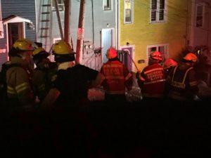 Firefighters battle blaze in downtown St  John's - ntv ca
