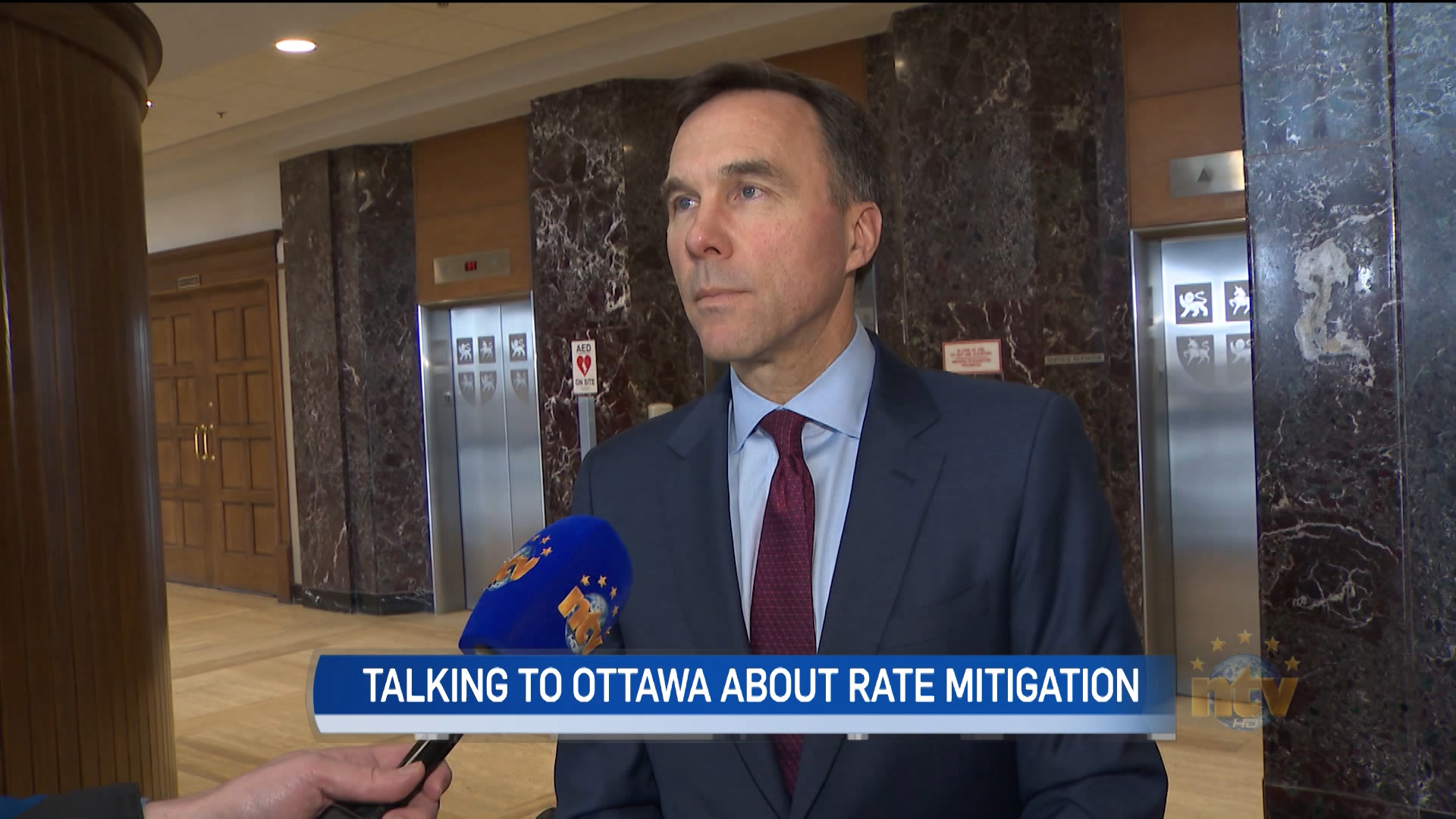 Morneau and Ball call first rate mitigation meeting 'positive' but offer few details