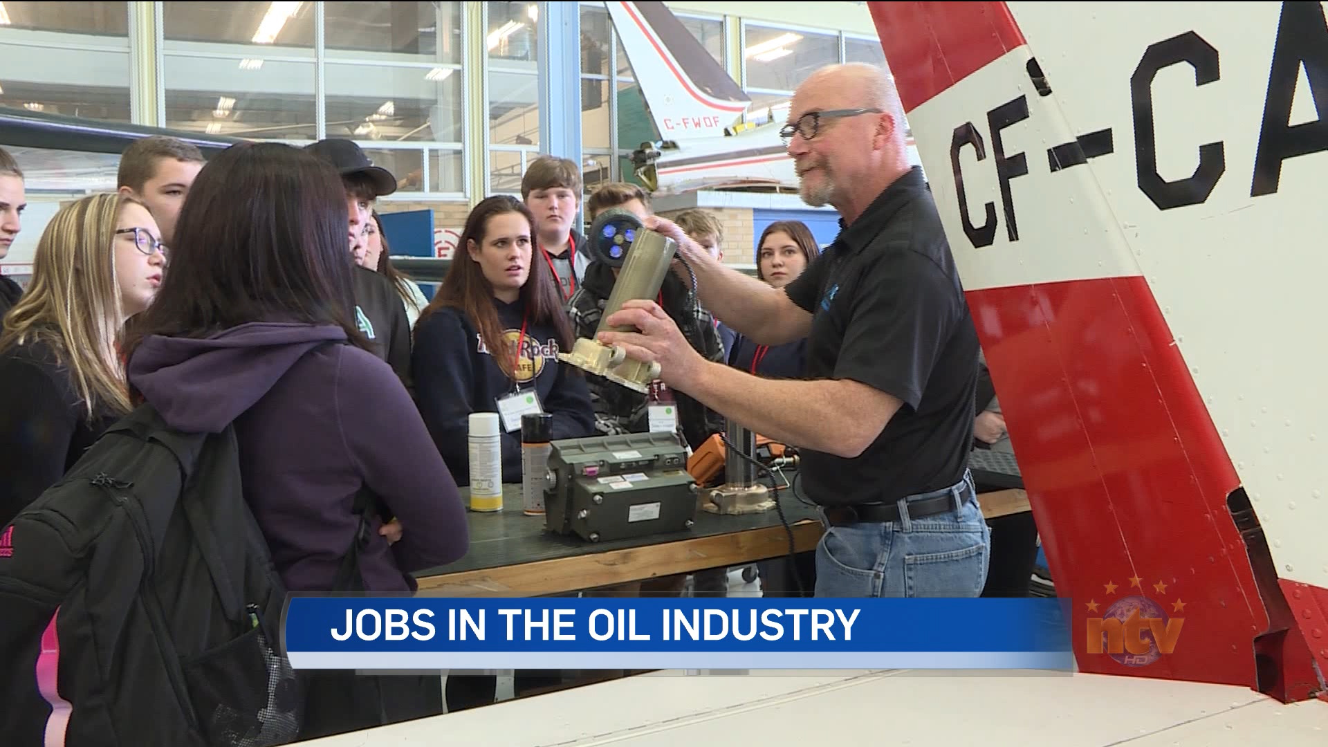 Gander students look at oil and gas sector careers - NTV News