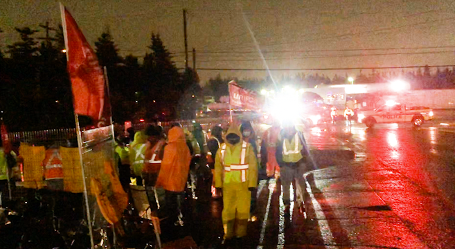 Striking Dominion workers outraged after police threaten arrests