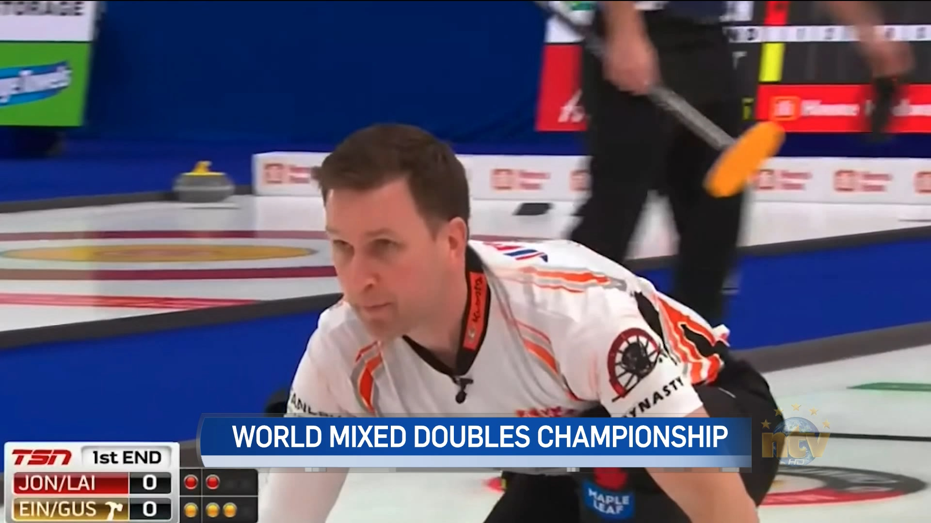 Gushue and Einarson finish fourth at world mixed doubles curling championships