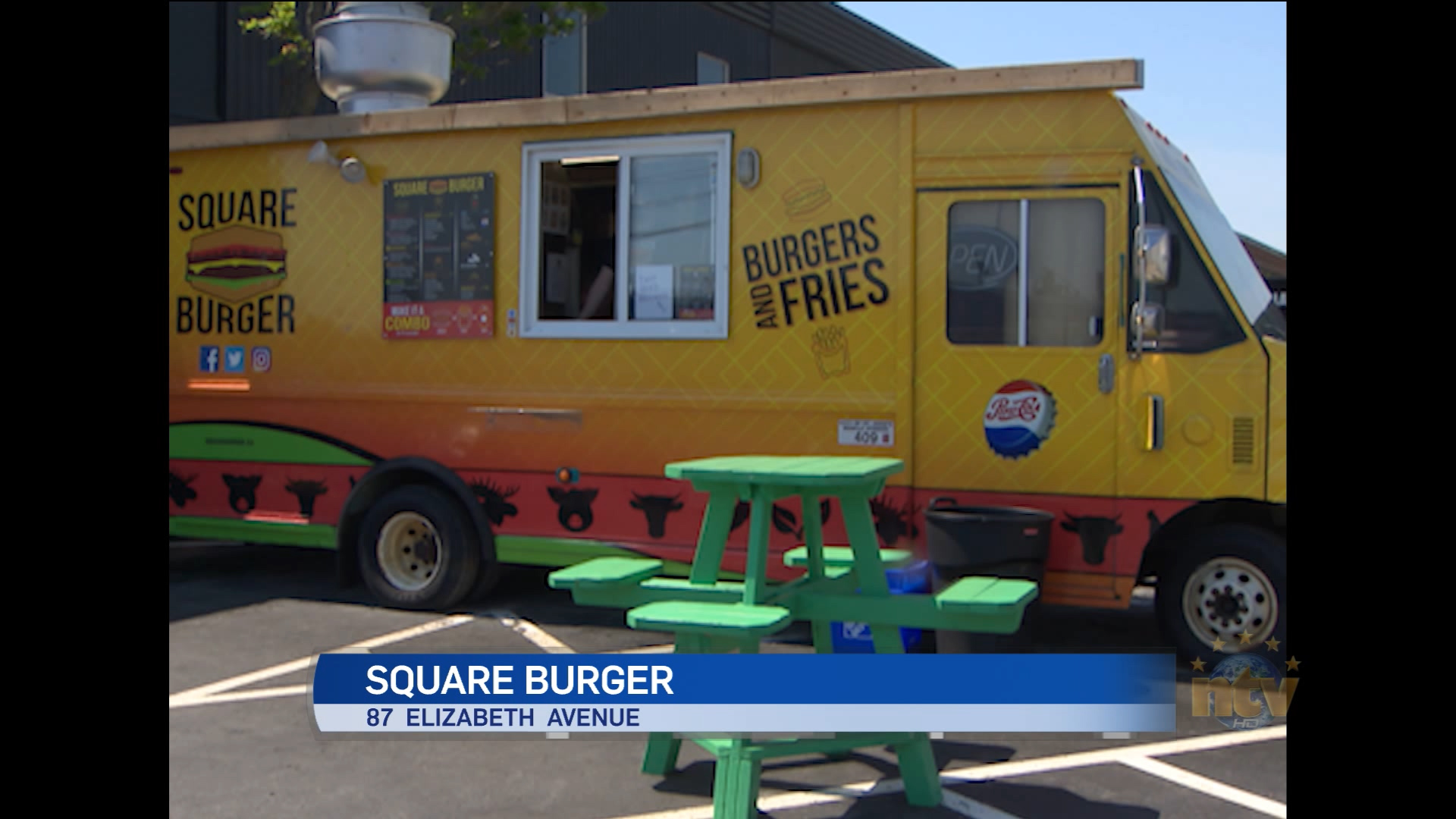 Square Burger features beef from western Newfoundland