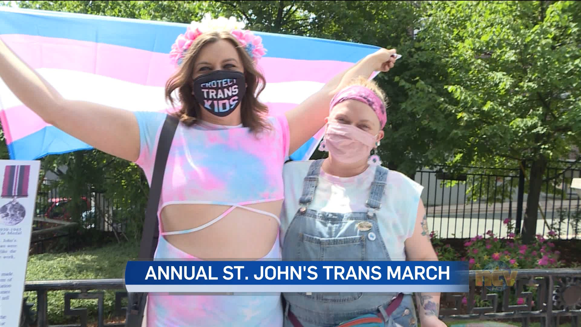 Annual Trans March takes place in downtown St. John's